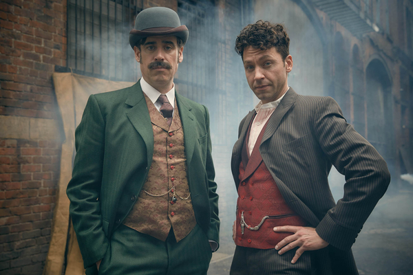 Houdini & Doyle, Stephen Mangan, Michael Weston, David Shore, House,