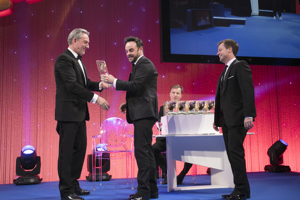 Ant and Dec at the RTS Programme Awards 2017