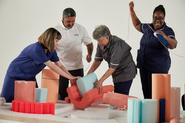 ITV Creates - NHS on the mend (Credit: ITV)