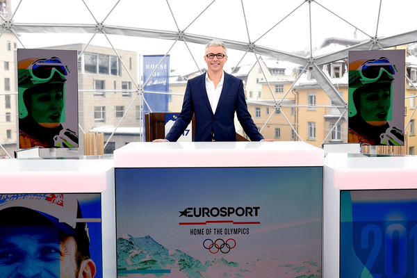 Jonathan Edwards in St Moritz (Credit: Eurosport)