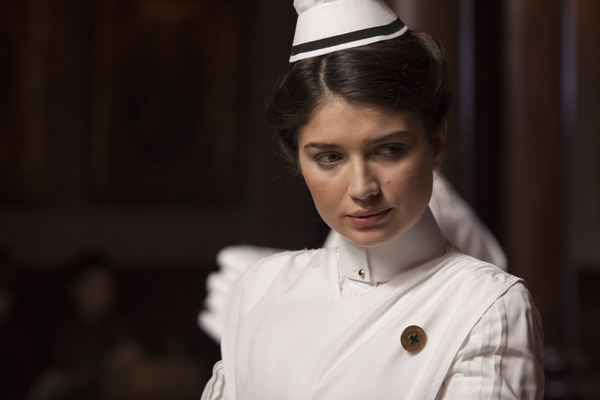 Eve Hewson as Lucy Elkins in The Knick (Credit: Sky)