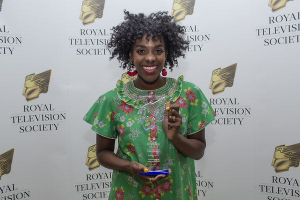 On-screen Personality winner Sabrina Grant (Credit: Harrison Reid)