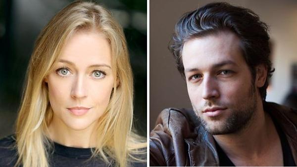 Elen Rhys and Julian Looman (Credit: BBC)