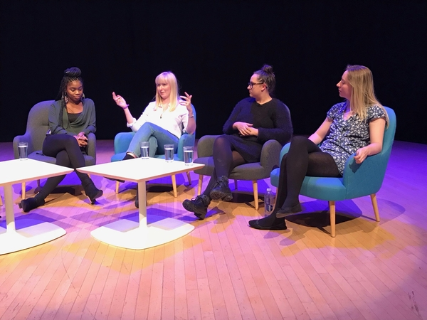 Ravelle Thomas, Holly Pywell, Hannah McDonagh and Eleanor Wight (Credit: Katherine Blair)