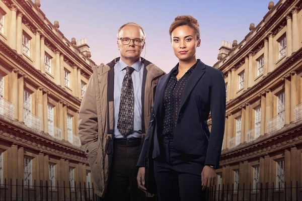 Tala Gouveia and Jason Watkins (Credit: ITV)