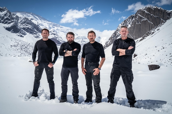 Directing staff Jason Fox, Ant Middleton, Olly Ollerton and Mark Billingham (Credit: Channel 4)