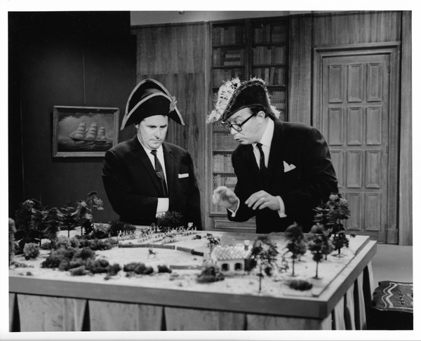 Eric Morcambe and Ernie Wise (Credit: UKTV)