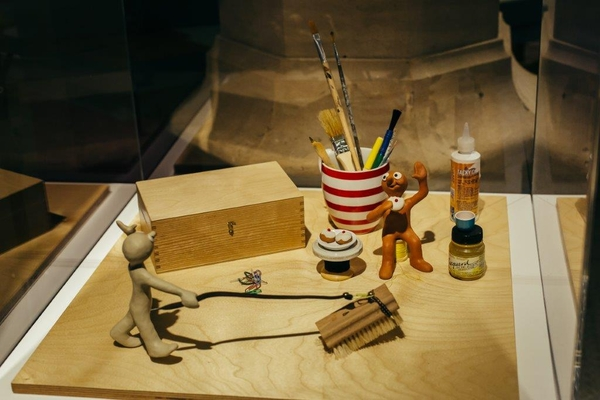 Original Morph set from Aardman Studios, part of the AniMotion Exhibition