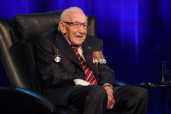 Captain Sir Tom Moore (Credit: ITV)