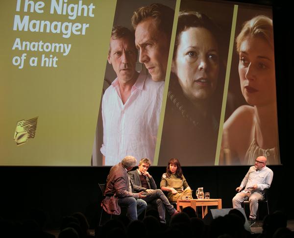 L-R: Simon Cornwell, David Farr, Susanne Bier and Boyd Hilton (Credit: Paul Hampartsoumian)