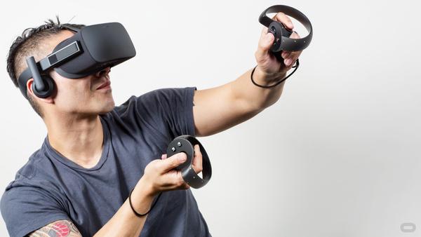 Oculus Rift, Facebook, Release, Oculus Touch