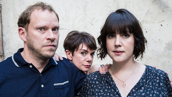 The cast of Our Ex Wife (Credit: BBC)