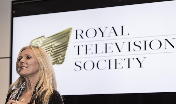April Chamberlain RTS Scotland Awards launch
