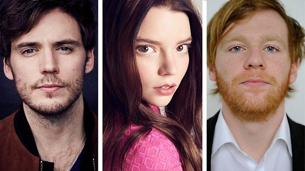 Sam Claflin, Anya Taylor-Joy and Brian Gleeson (Credit: BBC)