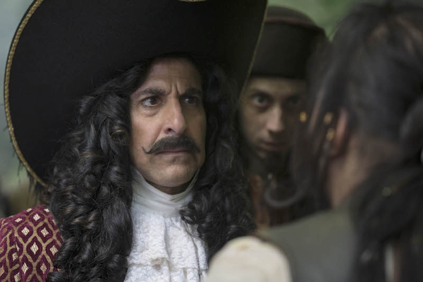 Stanley Tucci plays Captain Hook in Peter and Wendy on ITV