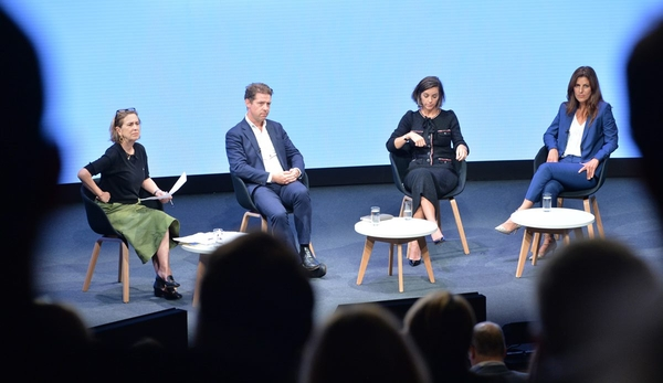 rom left: Kirsty Wark, Fraser Nelson, Alex Mahon and Maria Kyriacou (credit: Richard Kendal)