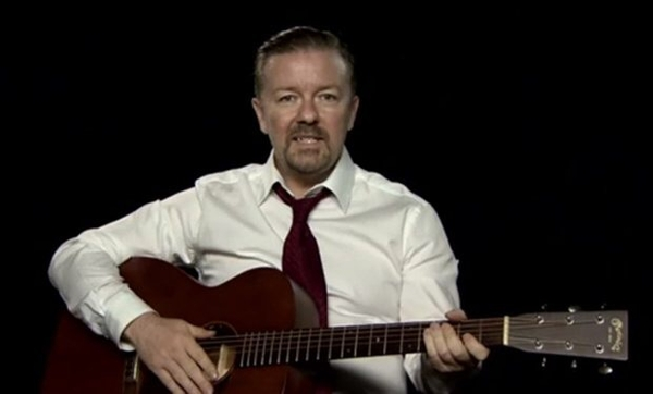 Ricky Gervais as David Brent