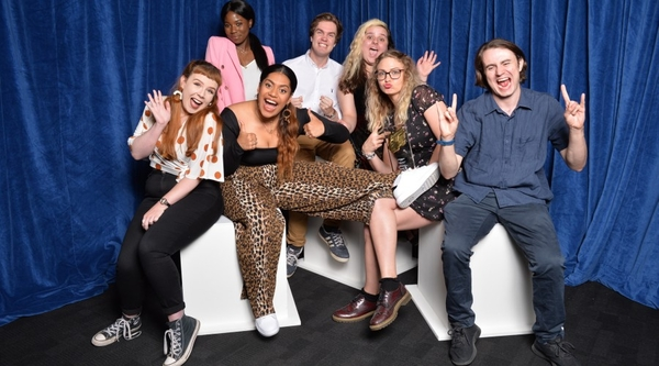 Winners of the RTS Student Awards 2019 (Credit: Richard Kendal/RTS)