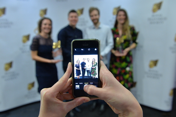 Winners of the RTS Student Awards 2018 (Credit: Richard Kendal/RTS)
