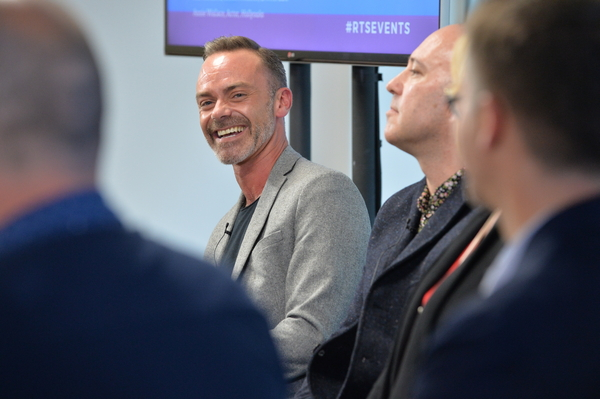 Coronation Street's Daniel Brocklebank (Credit: Richard Kendal)
