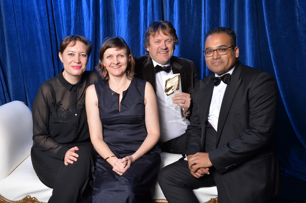 Channel 4 News was named Daily News Programme of the Year (Credit: RTS/Richard Kendal)