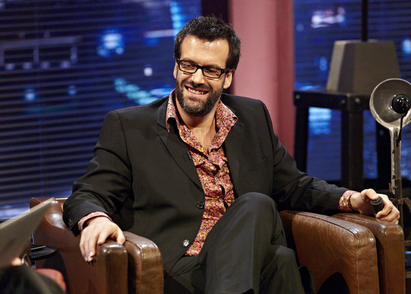 Marcus Brigstocke appearing on Alexander Armstrong's Big Ask (Credit: UKTV)