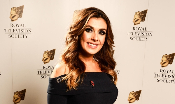 Kim Marsh at the RTS North West awards 2017 (Credit: RTS/Andrew Farrington)