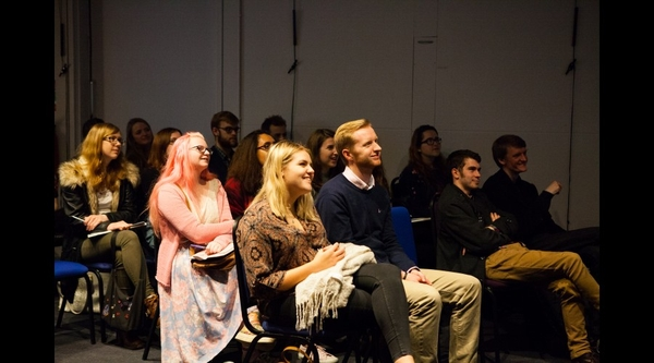 Attendees enjoying a session at the Bristol Futures Festival (Credit: (Credit: Ellie Kynaston)