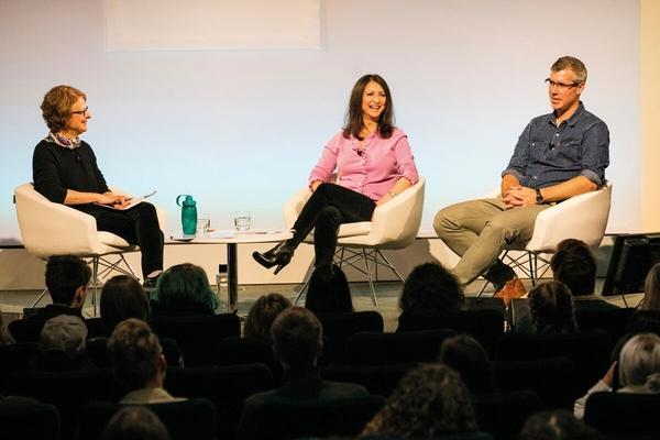 Ruth Pitt, Pia Di Ciaula and Rick Barker (Credit: Paul Hampartsoumian)