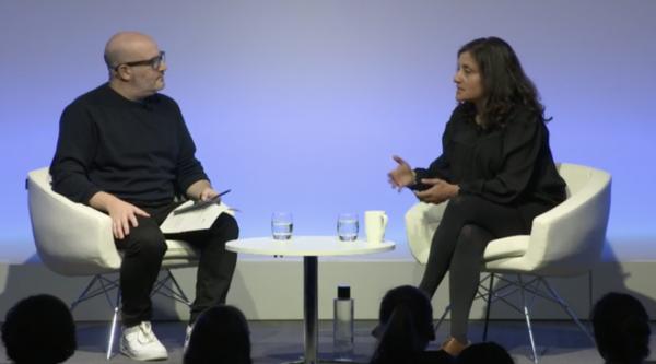 Angela Jain in conversation with Boyd Hilton