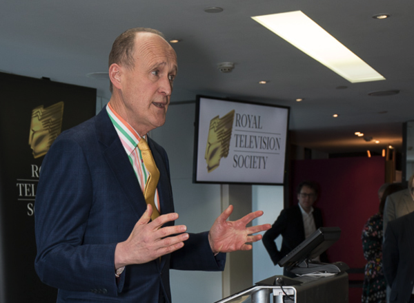 Peter Bazalgette at the RTS's 90th birthday party (Credit: Paul Hampartsoumian)