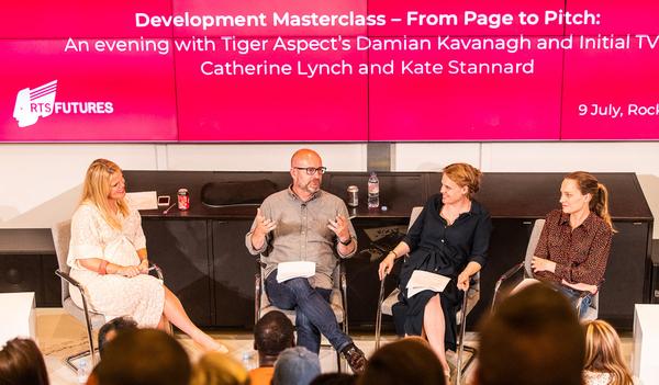 Anna Cronin (Chair), Damian Kavanagh, Catherine Lynch and Kate Stannard (Credit: Paul Hampartsoumian)