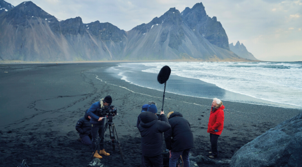 Behind the scenes of Seven Worlds, One Planet (Credit: BBC)