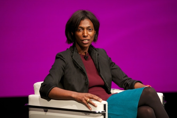 Ofcom's Sharon White at the RTS Cambridge Convention 2015 (Credit: Paul Hampartsoumian)