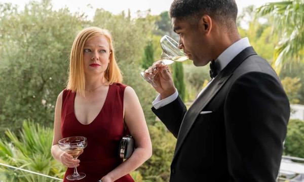 Sarah Snook and Kingsley Ben-Adir in Soulmates (credit: Jorge Alvarino/AMC)