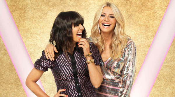 Claudia Winkleman and Tess Daly (Credit: BBC/David Oldham)
