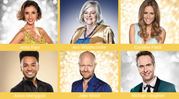 Strictly Come Dancing Christmas Special 2018 line up
