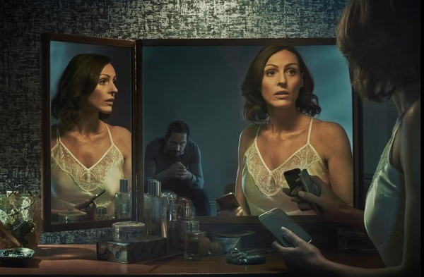 Suranne Jones as Gemma in Doctor Foster (Credit: BBC)
