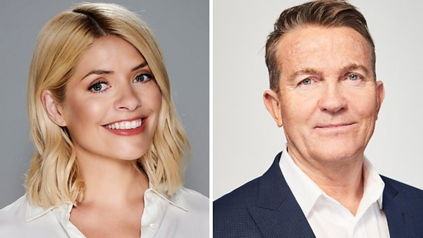 Holly Willoughby and Bradley Walsh (Credit: BBC)