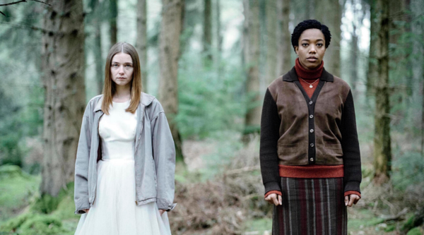 Alyssa (Jessica Barden) and Bonnie (Naomi Ackie) (Credit: Robert Chiltern/Clerkenwell Fi/Channel 4)