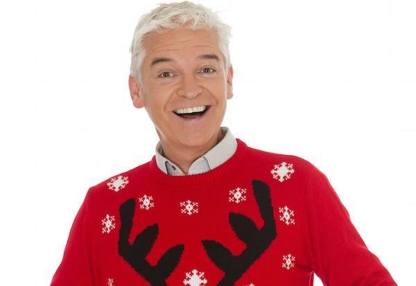 Phillip Schofield Text Santa 2015