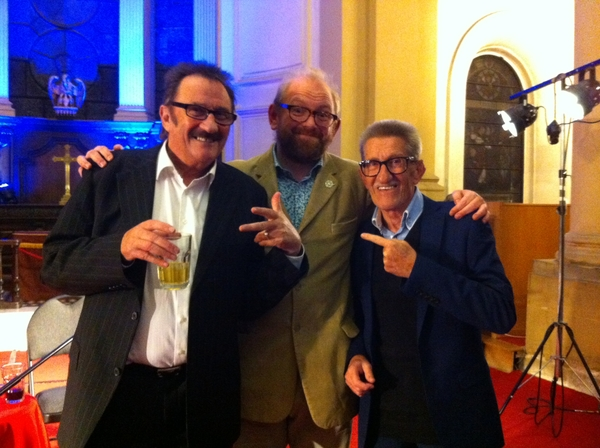 The Chuckle Brothers with Louis Barfe