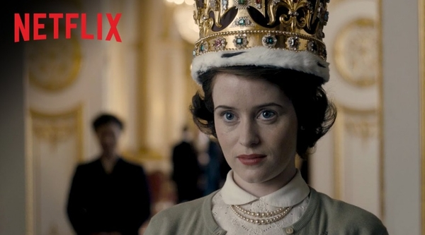 Claire Foy as Queen Elizabeth II (Credit: Netflix)