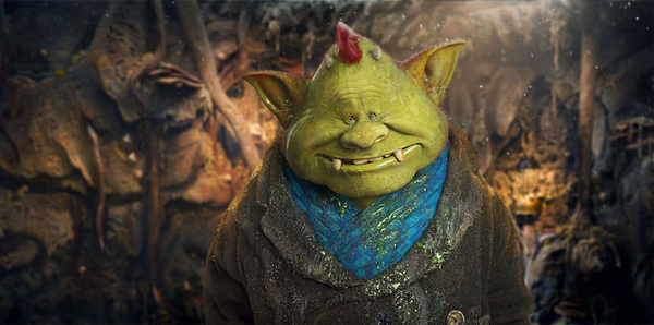 Timothy Spall stars as Fungus the Bogeyman