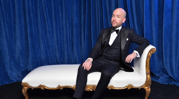 Tom Allen hosting the RTS Craft & Design Awards 2018 (Credit: RTS / Richard Kendal)