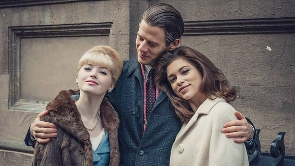 Ellie Bamber, James Norton, Sophie Cookson (Credit: BBC)