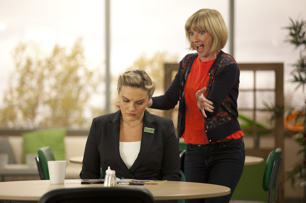 Jane Horrocks returns in Trollied: A Christmas Carol