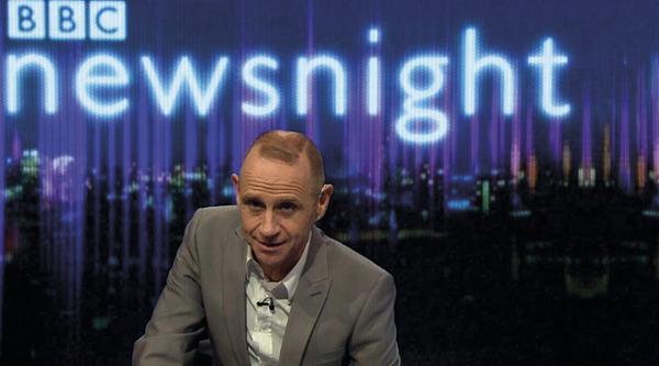 Evan Davis on Newsnight