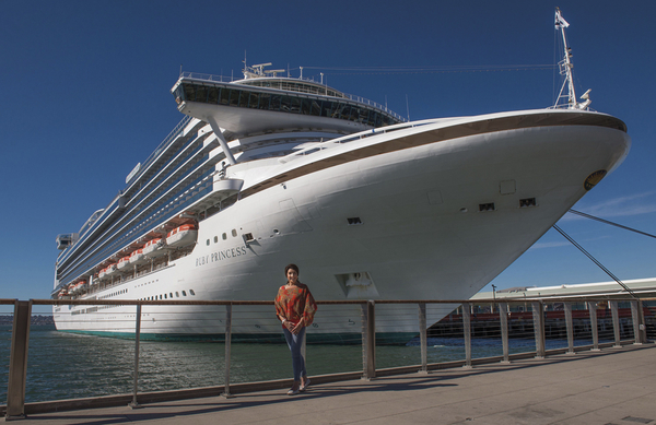 Cruising with Jane McDonald (Credit: Channel 5)