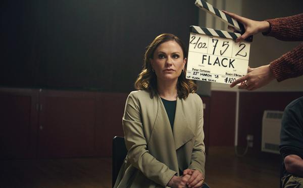 Anna Paquin in Flack (Credit: UKTV/W)